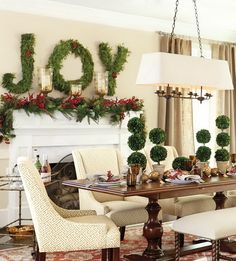 Christmas decor on pinterest cottage christmas french country