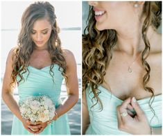 A Mint and Gray Wedd