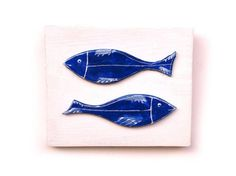 Fish ceramic wall art, Ceramic fish, Fish art , Fish home decor, Blue fish by http://www.artmosfair.com/en/shop/99heads