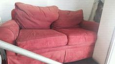 pink suede couch 2seater Wynberg - image 1 Suede Couch, Couches For Sale, Love Seat, Pink, Image, Furniture, Home Decor, Decoration Home, Room Decor
