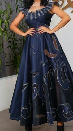 My long fashion Short African Dresses, African Print Dresses, African Fashion Dresses, Chitenge Dresses, Blue And Gold Dress, Lucy Fashion, African Traditional Wedding Dress, Africa Dress, Kitenge
