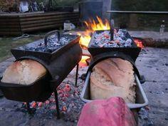 Како се пекао хлеб...