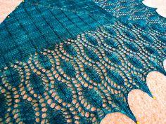 Ravelry: Peacock Shawlette pattern by Kitman Figueroa