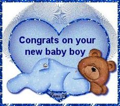 Picture: Congratulations On your new baby Boy!