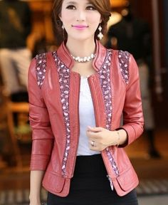 Leather-Jackets-for-Women-in-2016-54 62 Most Amazing Leather Jackets for Women in 2016
