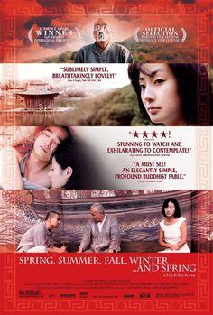 Spring, Summer, Fall, Winter... and Spring (2003) Bom yeoreum gaeul gyeoul geurigo bom  http://www.imdb.com/title/tt0374546/