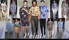 Spring Summer 2013 Men's Trend Review - Prints