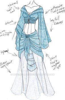 19ac23a938cbb LoveLiesBleeding2's DeviantArt Gallery Dress Drawing, Drawing Clothes,  Belly Dance Costumes, Bellydance, Fantasy