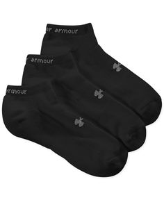Women's Under Armour HeatGear No Show Socks 3 Pack
