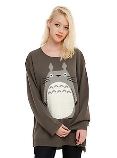 Studio Ghibli My Neighbor Totoro Girls Sweater, BLACK