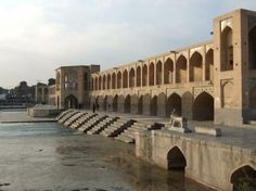 One of the most popular attractions in Esfahan, Khajou Bridge is both a bridge and a dam. Built under the king, Shah Abbas II around 1650, it was once a place for public meetings. In the center of the bridge is the pavilion where Shah Abbas once sat; it is now an art gallery