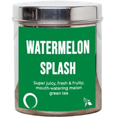 Our Watermelon Splash Tea is a refreshing blend of green and white tea bursting with juicy melon and fruit flavours. Perfect for sipping in the summer, over ice.