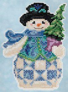 Jim Shore by Mill Hill Winter Series - Evergreen Snowman – Stoney Creek Online Store