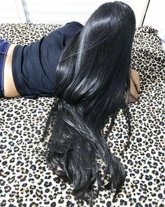 """674 Likes, 10 Comments - Long hair saga (@longhairsaga) on Instagram: """"Menina bonita com cabelos longos e saudáveis ❤️ Muito obrigado por compartilhar esta linda foto…"""""""