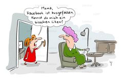 Familien-Cartoons: Schandtal! Komm zu Hause! - Humor   STERN.de