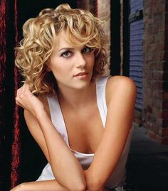 Cute Short Curly Layered Haircuts