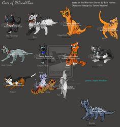 Cats+of+BloodClan+by+JB-Pawstep.deviantart.com+on+@deviantART