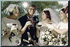 John Denver & Annie Martel wedding w/ bridesmaids, etc. John Denver, Celebrity Couples, Celebrity Weddings, Country Singers, Country Music, Make Pictures, Country Boys, Wedding Images, Beautiful Soul
