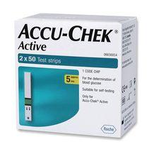 Test active accu strips chek