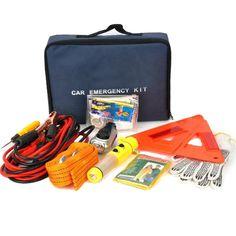 9-in-1 Car Vehicle Emergency Kit