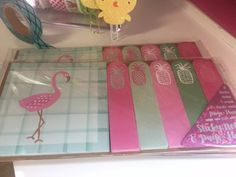 Hey, I found this really awesome Etsy listing at https://www.etsy.com/listing/265287560/target-one-spot-flamingo-and-pineapple