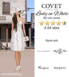 Lady in White @covetfashion #covet #covetfashion #covetfashionapp #fashion #covetspring2015 #spring2015 #womensfashion #ladyinwhite #white #vincecamuto #zimmermann #foleycorinna #rebeccaminkoff #lelesadoughi #ericjavits #suzannadai