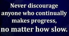 Slow progress compounded over time = big change!