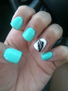 Absolutely in love with my nails!! Deluxe Nails and Spa in Denton, TX ask for Will!!