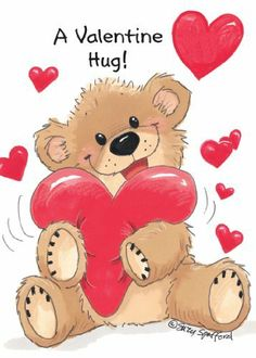 """Suzy's Zoo Valentines Cards 4-pack, """"A Valentine Hug"""" 10954 by Suzy's Zoo. $8.95. Pack of Four. 5"""" x 7"""". Recycled Paper. Featuring original artwork by Suzy Spafford, these Valentines Greeting Cards from Suzy's Zoo are instant classics for the season, printed on recycled paper in the USA and measuring 5"""" x 7"""" with either red, pink, or white envelopes to match the color scheme of the artwork. Sold here in packages of four."""