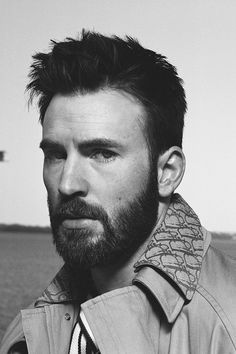 """beardedchrisevans: """"Chris Evans for Esquire photographed by Robbie Fimmano """""""