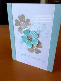 Just Because Flower Shop by Dobeluvr94 - Cards and Paper Crafts at Splitcoaststampers