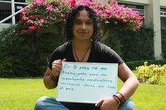 Omar Cruz, estudiante de Arquitectura