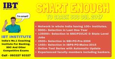 Are you looking to find best SSC CGl coaching Center in Delhi? Consider IBT Institute for good success ratio of selection. For more information visithttps://www.ibtindia.com/delhi