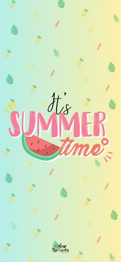 : Fond d'écran SUMMER TIME fond-decran-summer-time-iphone-X-makeupbyazadig-tendance Iphone Wallpaper 4k, Unicornios Wallpaper, Summer Wallpaper, Kawaii Wallpaper, Pastel Wallpaper, Backgrounds Wallpapers, Cute Wallpapers, Wallpaper Telephone, Android App Design