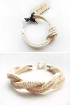 Perfect Junghwa Nautical Bracelet--too awesome! Perfect for the days when you wish you could escape to the beach. :)