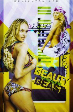 Beauty Is The Beast - Wattpad Cover by DeviantSmiler