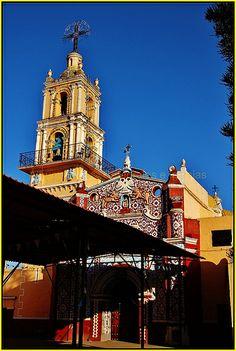 Parroquia San Gregorio Zacapechpan,San Pedro Cholula,Estado de Puebla,México