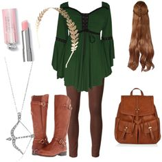 Tauriel by lemma-loo-hoo on Polyvore featuring Koral, Naturalizer, Accessorize, BERRICLE and Wet Seal
