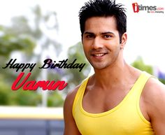 The handsome student worked as an assistant director before making it big as an actor. Let's wish #VarunDhawan a very Happy Birthday. Here is his life in pics