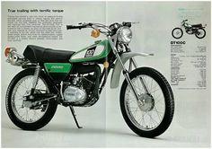 YAMAHA-Brochure-DT100-DT100C-1976-Sales-Catalog-REPRO