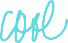 Silhouette Online Store: cursive cool - all Silhouette cut files 50% off through March 27th!