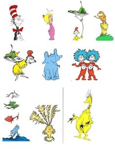 Free dr seuss characters: