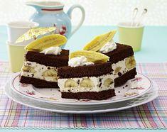 Unser beliebtes Rezept für Banana-Split-Schnitten und mehr als 55.000 weitere kostenlose Rezepte auf LECKER.de.