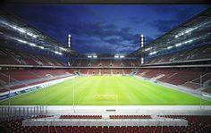 In guten und in schlechten Zeiten. Leider meistens in schlechten. Rhein Energie Stadion Köln