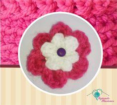 Modelo Nº 55:Broche para el cabello Doble flor