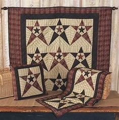 Primitive Country Star Quilts - Country Quilts by Choice ...