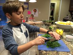 Mimi Sager Yoskowitz writes about how her son has been Learning Life Skills with Knife Skills from watching cooking shows like Master Chef Junior Master Chef, Life Skills, Learning, Cooking, Kitchen, Cuisine, Studying, Koken, Teaching