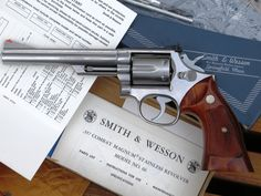 Smith & Wesson Model 66. The .357 Magnum Combat Masterpiece in stainless steel.