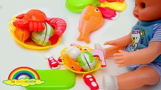 Learning name of Sea Animals and Vegetable
