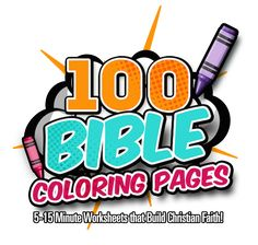 Printable Bible Coloring Worksheets for Kids 4-12: Dot-to-Dot, Color-by-Number, Coloring Sheets, Verse Posters, Coloring Puzzles